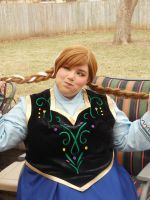 Anna of Arendelle I by Labyrinthinwyrm