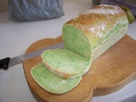 Green Bread by bluepiccolo