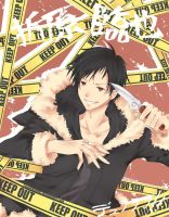 Orihara Izaya by LonelyKnight