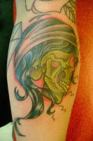 zombie gypsy tattoo by m40a2