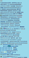 Ultimate Sonic TH Sprite Sheet by HeiseiGoji91