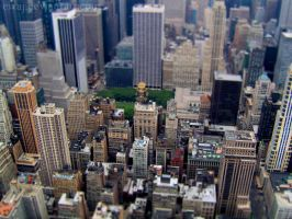 New York - Tilt Shift by eivaj