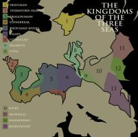 Kingdoms of the three seas by J2040