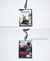 Assassin's Creed III (PC) Keychain by Drevart