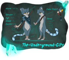 Sophia Hart - The Underground City - App by Wolf-Chalk