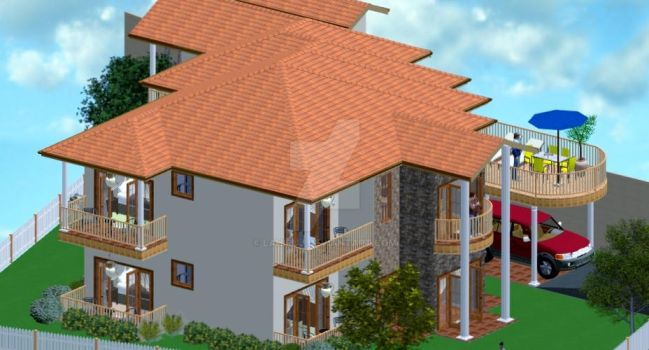 Holiday Home Design by LahiruJ