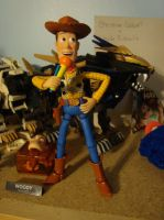Woody is singing by spidyphan2