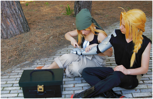 Winry! Winry! Can you fix it?? by ShuzaCosplay