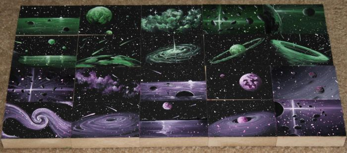 Mini Artomat Spacescapes 511-530 by crazycolleeny