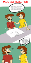 MARIO COMIC: Mother Talk by NeshBearWorks