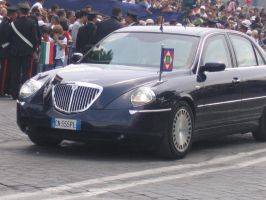 Lancia Thesis - state car, President of Italy by YamaLama1986