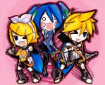 vocaloid chibis 2 by FlabberGhaster