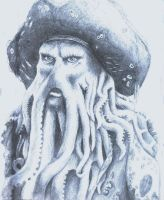 Davy Jones by Lelixiana