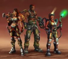Codex Astra: Bounty Hunters by Risachantag