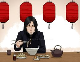 Noodles for Snape by lily-fox