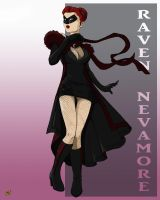 Raven Nevamore by Twizdedsoul