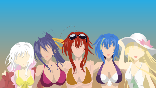 House of Gremory - Highschool DxD - Beach by Hespen