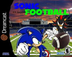 Sonic in NFL Football by EternalInsanity787
