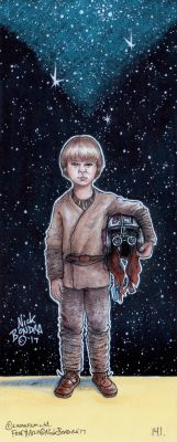 Anakin Skywalker ( Episode 1 ) by Phraggle