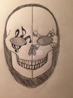 Design for my mask by JaclynTheRipper