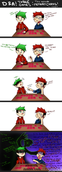 DARK AND ANTI IN TABLE GAMES by xOtakuStarx