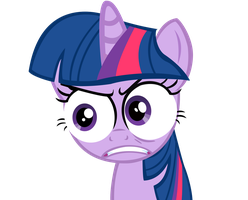 Twilight Sparkles rage face by sofunnyguy