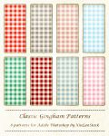 Classic Gingham Patterns by XiuLanStock