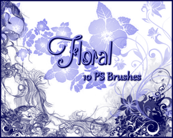 PS Floral Brushes by Illyera