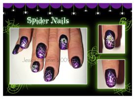 Spider Nails by Jessi9999