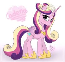 MLP FIM - Princess Cadence 2 by Joakaha