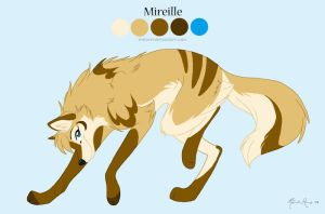 Mireille Reference Sheet by mirzers
