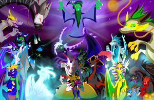 .:Dragon and OC Halloween 2012:. by Silver-HeartCrosser
