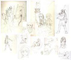 Total Frustation scketches... by Nhur