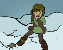 HTTYD Fan Vignette - Almost Frozen Hiccup by JasonMasters