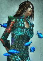 Seaborn Scale Armor--Detail by the0phrastus