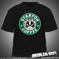 Starfox Coffee T-Shirt Design by StacMaster-S
