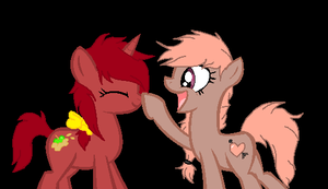 .:collab:. Booped by opaleyedwolf