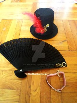 The most important accessories of a steampunk lady by vanchidel
