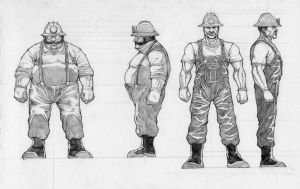 Character Profiles 2 by Alan-Gallo