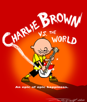 Charlie Brown Vs the World by ryuuseipro