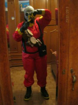 Team Fortress 2 - Pyro Cosplay by Kighto
