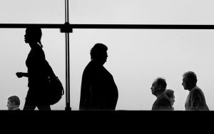 Friday night commuters by jaismith