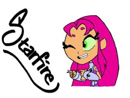 Starfire!! by IceCreamKitty00