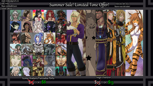 Summer Sale Ends July 15th! by ridia