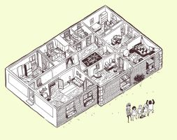 My Apartment by atomier