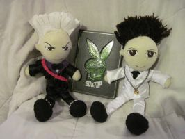 Top and GD Plushies by SubterraneanTV
