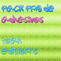 Pack de adhesivos png by YoahEdition