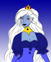 Ice Queen Sketch by totalexistancefail