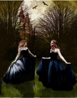 Sisters of Moonlight by LaColombeDeDeuil
