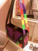 Duck Tape Gay Pride Bag by ohmeohmy0530
